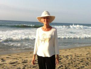 Lucia on the Beach