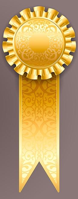 Testimonial SS-177428234 Gold Ribbon